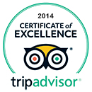 2014 Certificate of Excellence - TripAdvisor