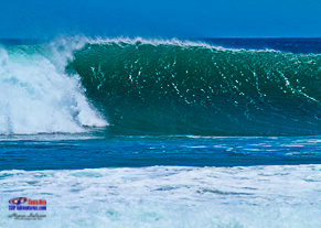 Beautiful empty wave at Costa Rica stand up paddle camps